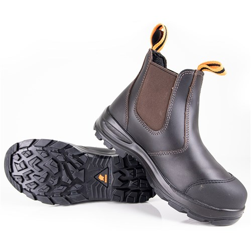 Bison Delta  Slip-on Safety boot - Anti-penetration insole, PU/TPU sole (BISON030)